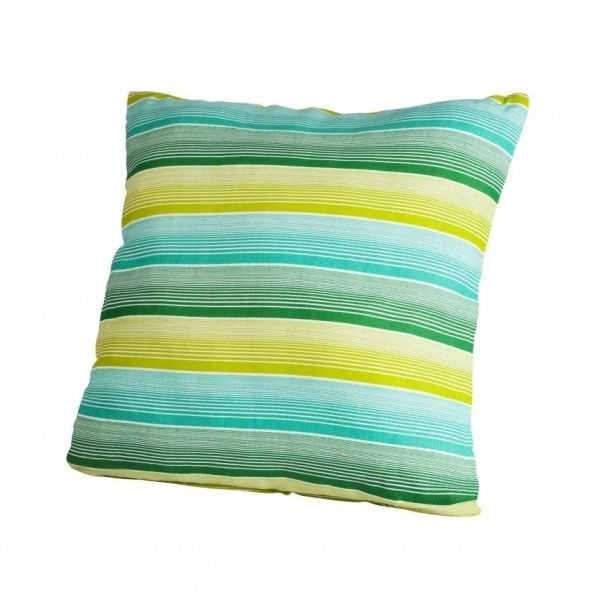 Perna decorativa 40x40cm Green Stripes