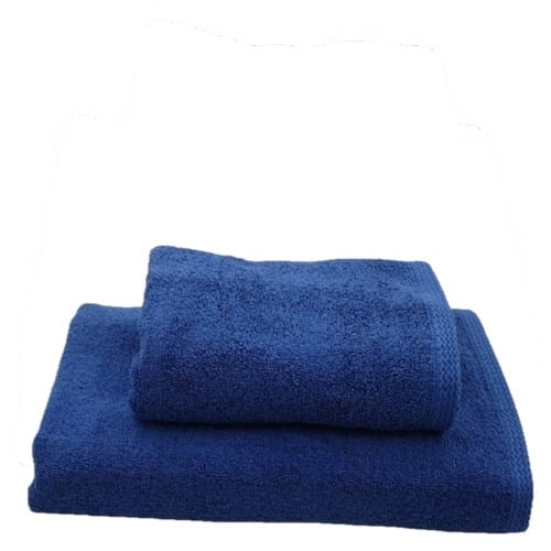 Set 2 Prosoape Royal Albastru bumbac pakistanez 600gr
