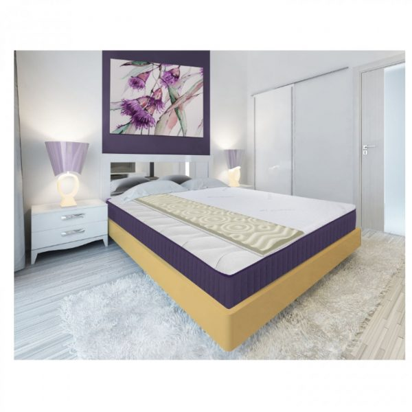 Topper Lavanda Therapy 7 zone de confort 160x200cm