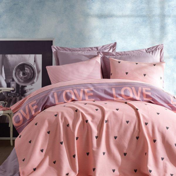 Cuvertura de pat dubla EnLora Home Ramona Lilac