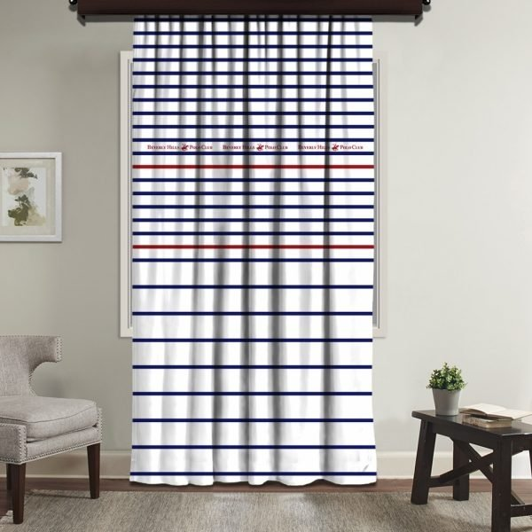 Draperie Beverly Hills Polo Club 140x260cm White/Blue/Red
