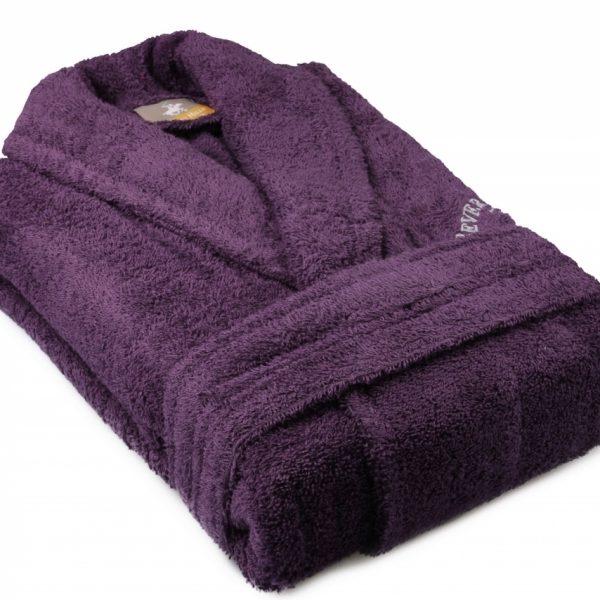 Halat unisex Beverly Hills Polo Club 100% bumbac M/L Purple