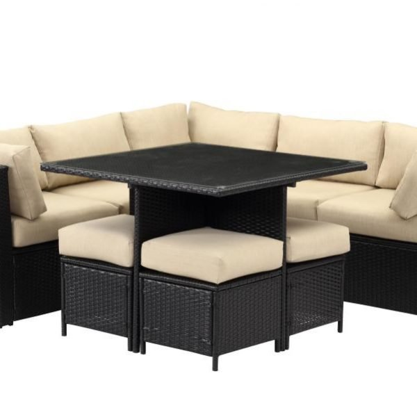 SET MOBILIER 9 PIESE OSLO