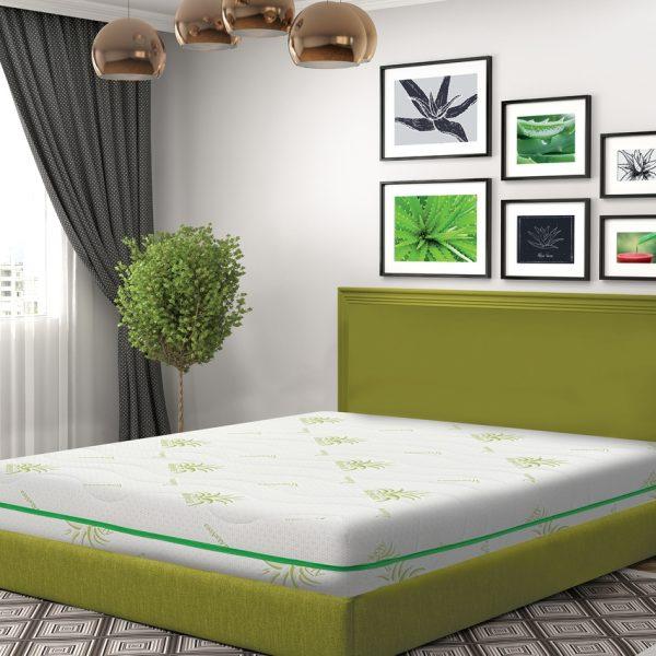 Saltea Green Future COOL Aloe Vera Memory 180x200cm